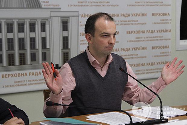 Рада звільнила з посади голови Антикорупційного комітету Соболєва