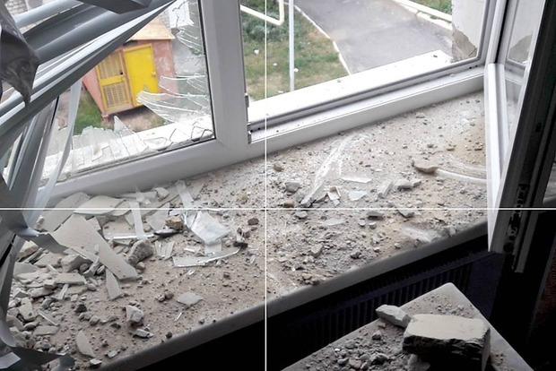 В Красногоровке террористы обстреляли больницу, ранена женщина