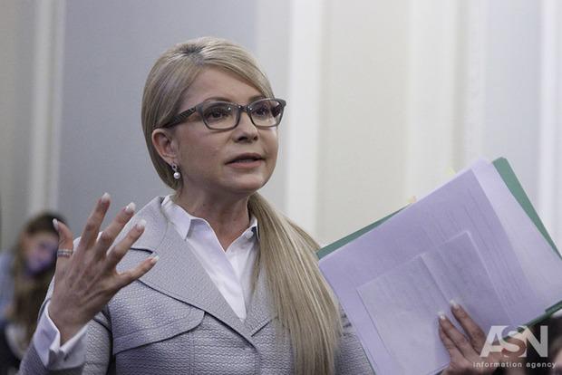 Тимошенко сообщила остратегическом плане приведения Украинского государства кмиру