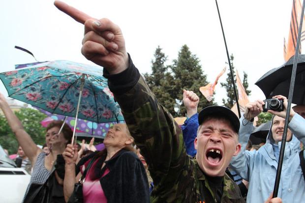 На Донбассе под землей обнаружили тела боевиков