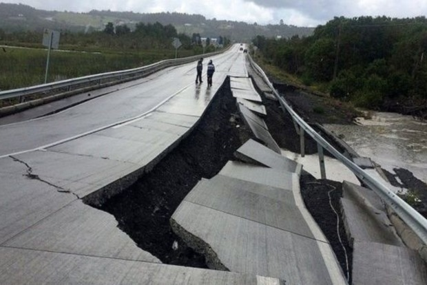 Мощное землетрясение в Чили может спровоцировать цунами