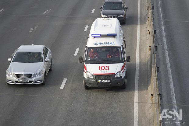 ВОдессе патрульные задержали бригаду скорой помощи