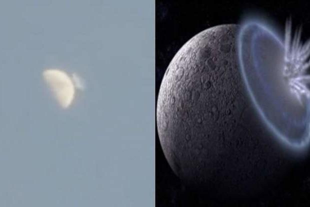 В Сети обсуждают загадочное видео со столкновением метеорита с Луной