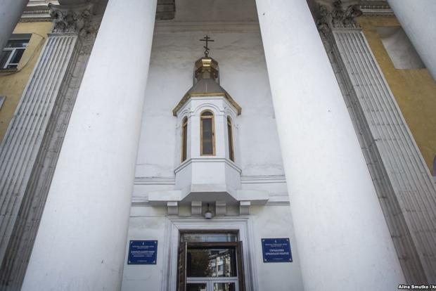 Прокуратура Крыма проверяет блокировку храма УПЦ КП в Симферополе