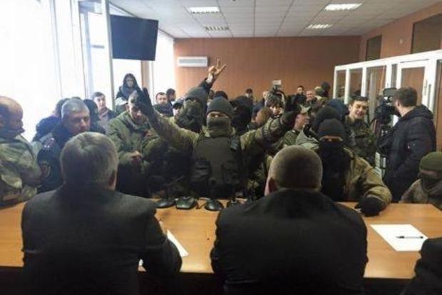 В Одессе активисты захватили здание Малиновского райсуда, на очереди Апелляционный суд