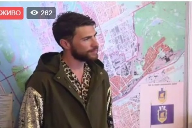 Пранкер Виталий Седюк не сожалеет, что показал голый зад на Евровидении