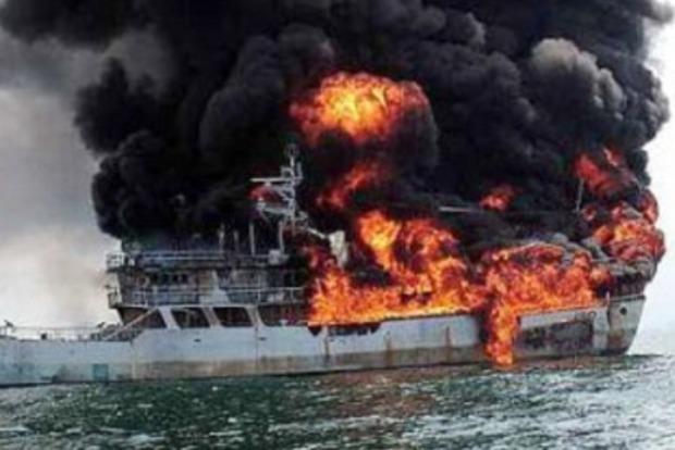 При пожаре на российском танкере погиб механик