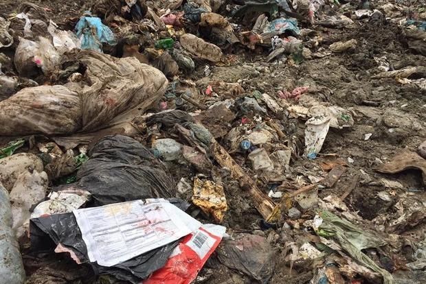 Львовский мусор нашли в Житомирской и Тернопольской областях