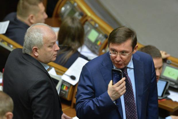 А вас я попрошу остаться: Луценко попросил Полякова и Розенблата задержаться после заседания