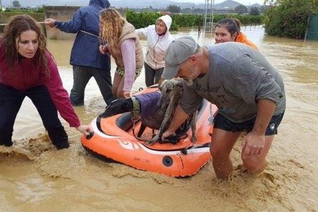 В Испании из-за наводнения погибли двое человек
