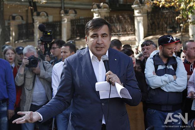 Саакашвили ответил Луценко: Я имею право на постоянное место жительства в Украине