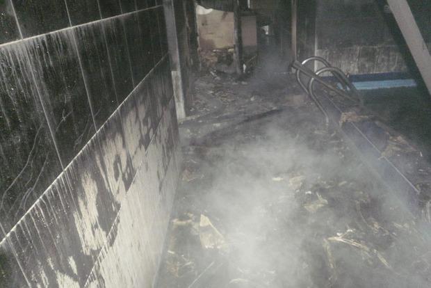В Красногоровке сгорела сауна, погибло три человека
