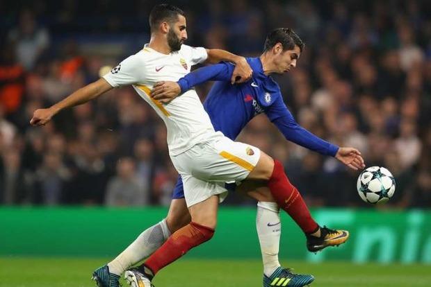 «Челси» и «Рома» устроили зрелищный матч, забив на двоих 6 голов
