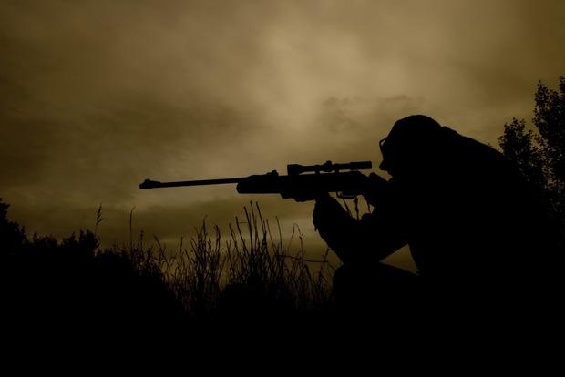 В зоне АТО появилось большое количество снайперов боевиков