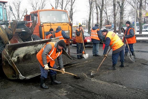На ремонт дорог в Киеве перед «Евровидением» потратят 91 млн гривен