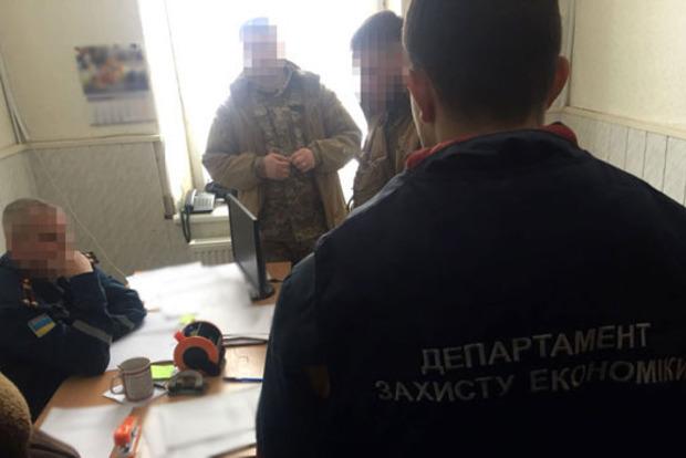Подполковник-взяточник ГСЧС задержан в Луганской области