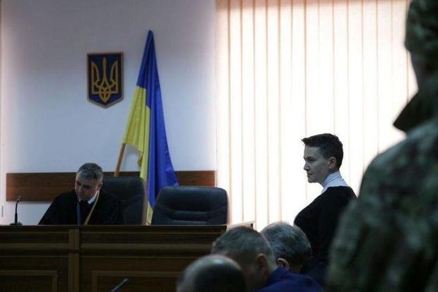 Суд на 2 месяца арестовал Савченко без права внесения залога