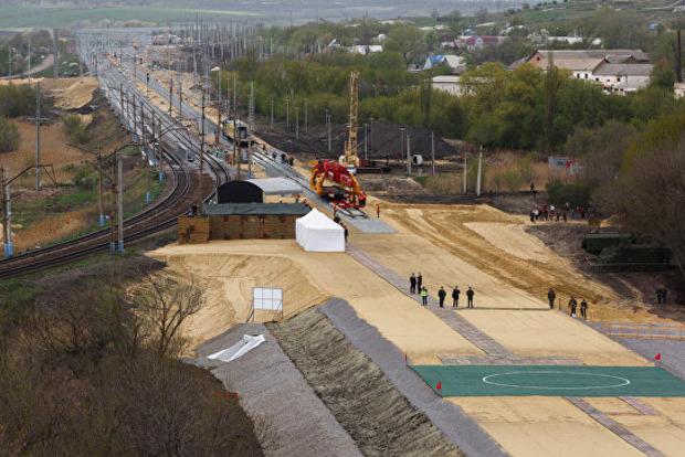 До нового года все российские поезда будут ходить в обход Украины