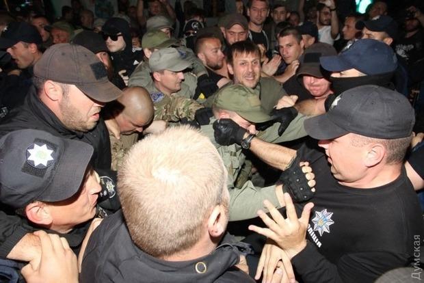В Одессе из-за концерта Лободы произошли потасовки