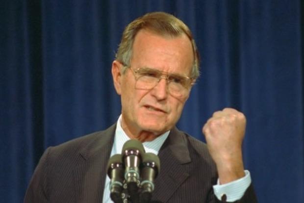 Стали известны причины госпитализации Джорджа Буша