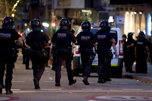 Полиция Барселоны проводит масштабную антитеррористическую операцию