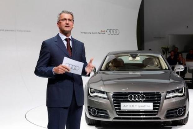 Задержан глава автомобильного концерна Audi