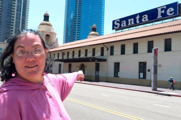 Американка вышла замуж за вокзал, который любила в течение 36 лет