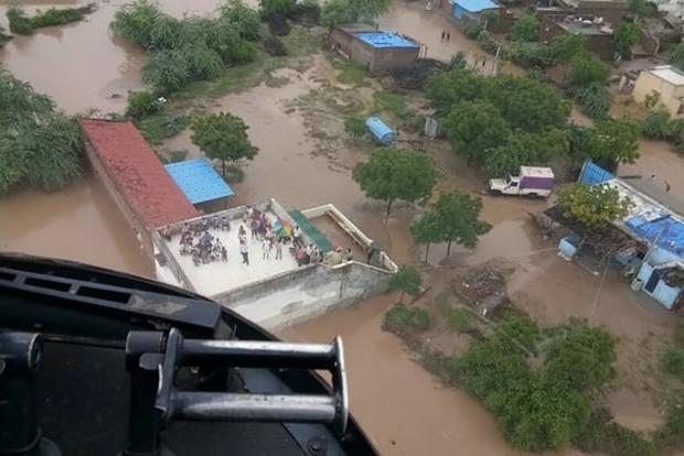 Наводнение в Индии унесло жизни 213 человек