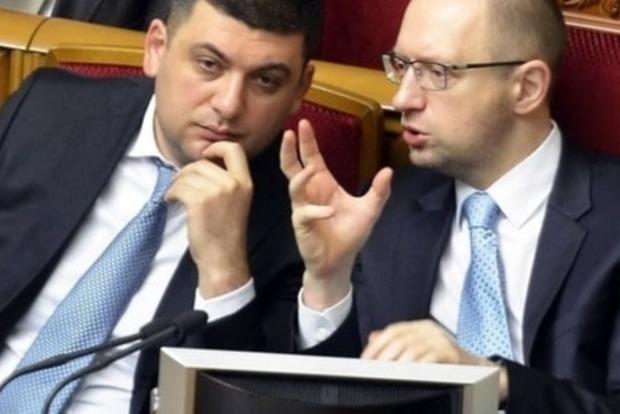 «Рубаха-парень» против «нарцисса»: политолог рассказал, как Гройсман превратился в Яценюка