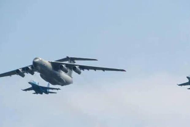 У День Незалежності над Хрещатиком пролетить військова авіація