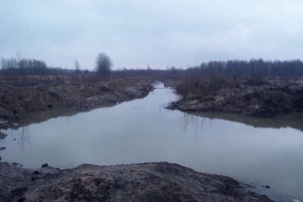 В Житомирской области госземлю отдали под незаконную добычу янтаря