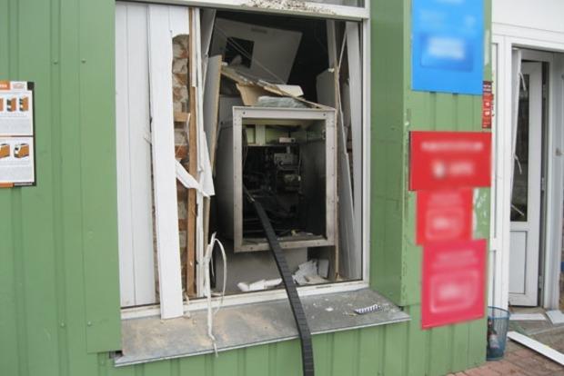 На Черниговщине взорвали банкомат