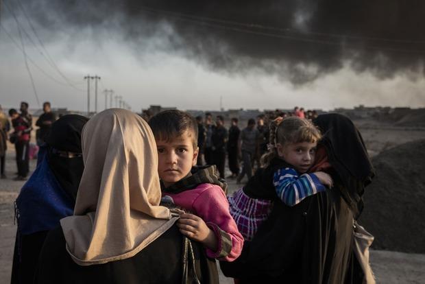 За месяц из охваченного войной Мосула сбежали 68 тысяч человек
