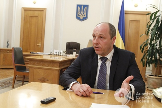 Парубий рассказал о причинах падения рейтинга партии Яценюка