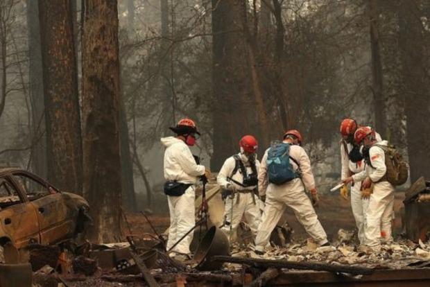Пожары в Калифорнии: количество жертв возросло до 79