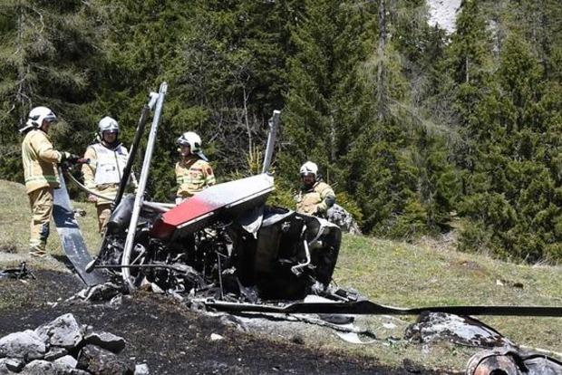 В Австрии потерпел крушение вертолет, есть жертвы