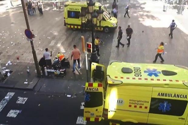 МИД: Среди пострадавших в результате теракта в Барселоне нет украинцев