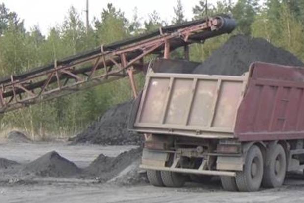 Возле Кременной незаконно добывали уголь