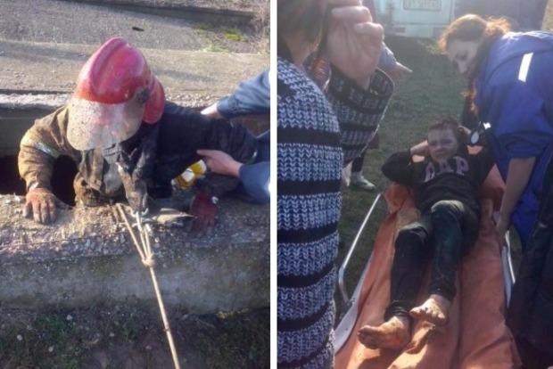 В Херсоне 10-летний мальчик упал в 50-метровый колодец и выжил