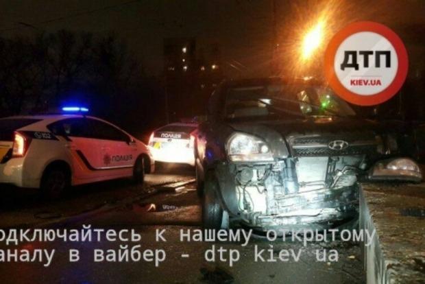 В Киеве произошло масштабное ДТП: возможно, причастен сотрудник прокуратуры
