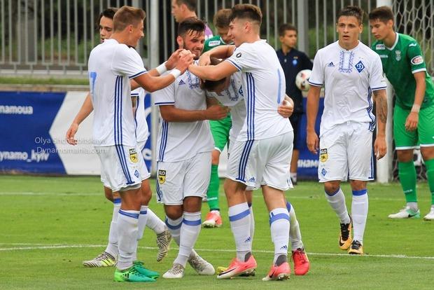 Молодежка Динамо в принципиальном матче разгромила Мариуполь