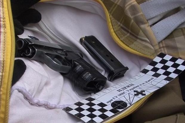 В Киеве задержан автомобиль с оружием и спецсредствами
