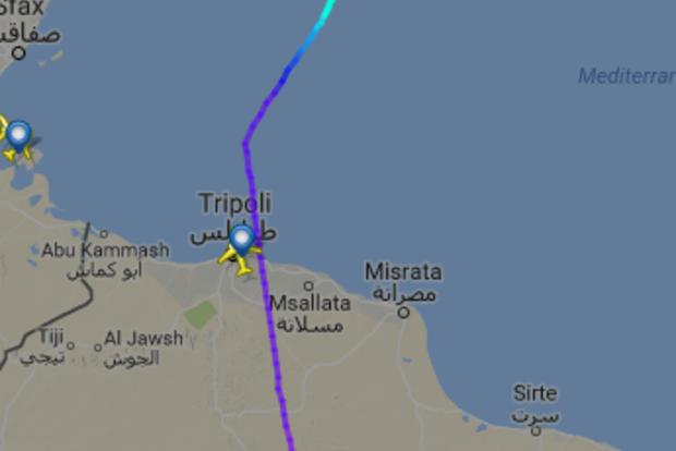 В небе над Ливией угнали пассажирский самолет: захватчики выдвинули требования