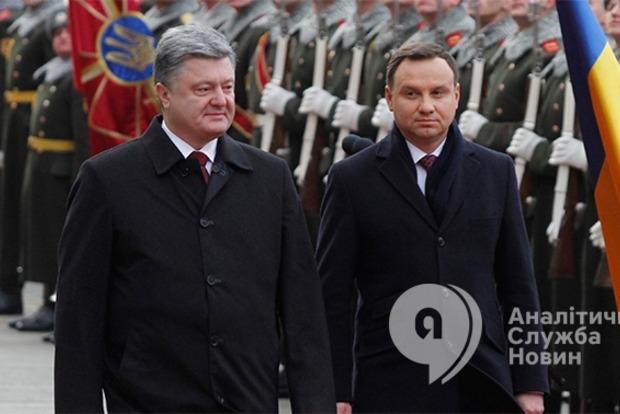 Дуда в Украине: хватит разговоров, пора действовать!