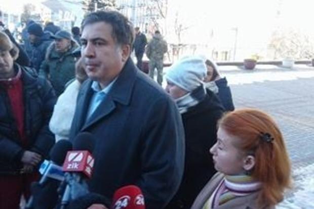 Саакашвили раскритиковал арест гражданина Грузии, который воевал в АТО