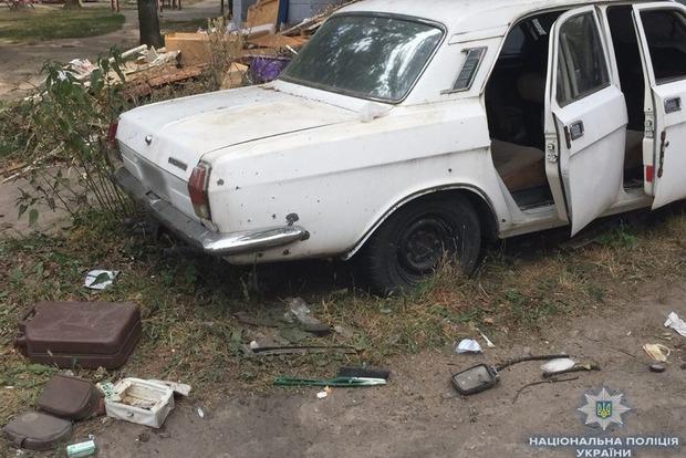 Четверо дітей постраждали під час вибуху автомобіля в Києві. Жахливе відео (18+)