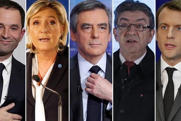 Стали известны лидеры президентской гонки во Франции