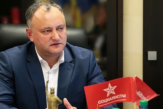 Додон вступил в должность президента Молдовы