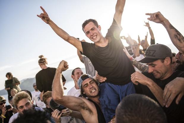 Украинец победил на чемпионате мира по паркуру