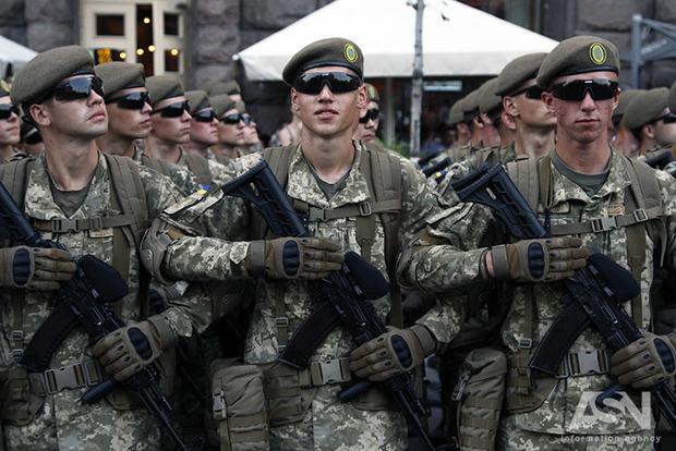 Расходы на оборону в 18 году увеличат до 164,9 млрд грн